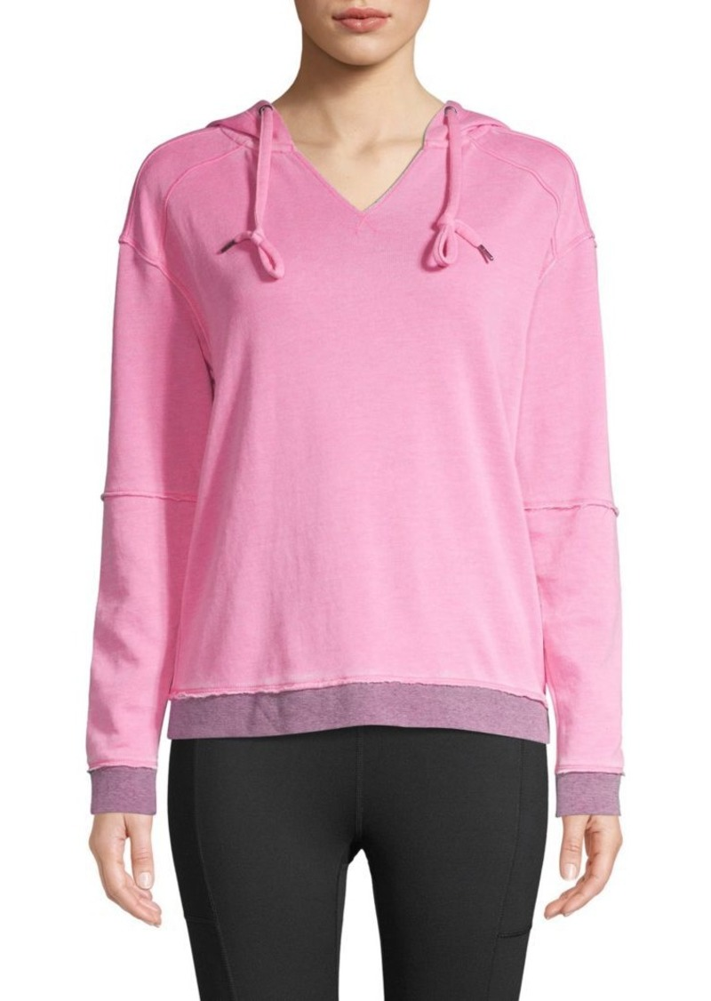 Nanette Lepore Pullover Cotton-Blend Hoodie