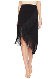 Nanette Lepore Rarified Fringe Knit Skirt