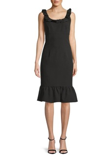Nanette Lepore Ruffled Sheath Dress
