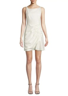 Nanette Lepore Shirred Mini Dress