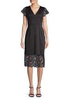 Nanette Lepore Sleeveless Knit Sheath Dress