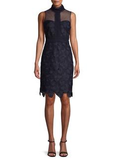 Nanette Lepore Sleeveless Lace Sheath Dress