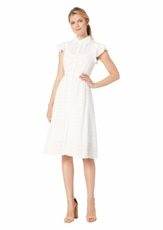 Nanette Lepore Solid Stripes Dress