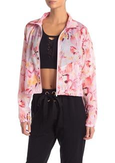 Nanette Lepore Southbank Floral Windbreaker Jacket
