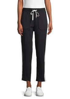 Nanette Lepore Striped Tapered Track Pants