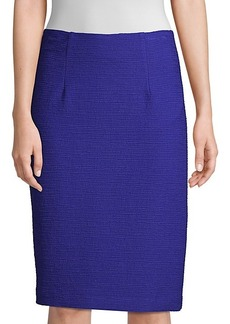 Nanette Lepore Textured Pencil Skirt