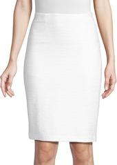 Nanette Lepore Textured Pencil Skirt