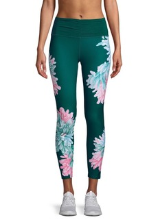 Nanette Lepore Theater Floral Ankle Leggings