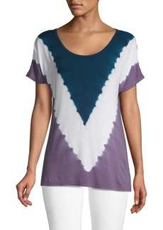Nanette Lepore Tie-Dyed Short-Sleeve Tee