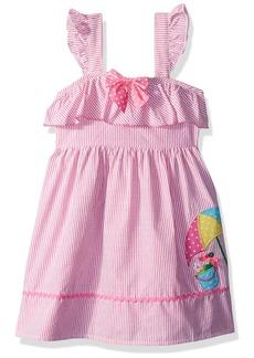 Nannette Girls' Toddler seer Sucker Dress