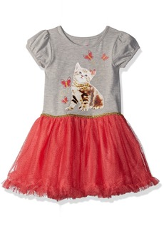 Nannette Girls' Toddler Tutu Dress Grey