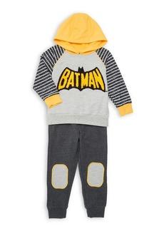Nannette Little Boy's Two-Piece Batman Hoodie Set