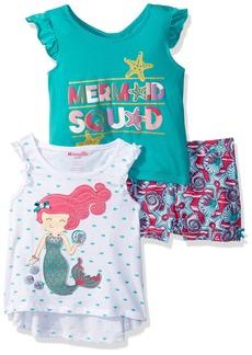 Nannette Little Girls' 3 Piece Short Outfit Set  6