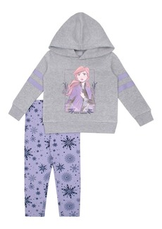 Nannette Little Girl's Frozen 2 Anna 2-Piece Hoodie & Leggings Set