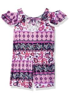 Nannette Girls' Toddler Printed Yummy Romper