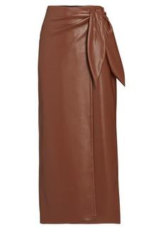 Nanushka Amas Wrap Vegan Wrap Skirt