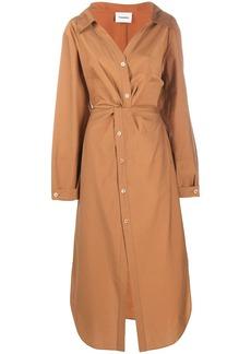 Nanushka Ayse long-sleeve shirt dress