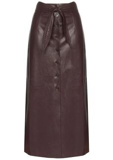 Nanushka Arfan belted skirt