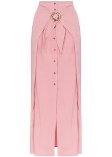 Nanushka Chemia buckled maxi skirt