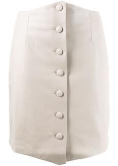 Nanushka button up skirt
