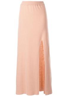 Nanushka Paak A-line skirt with slit