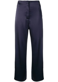 Nanushka Caribe satin trousers