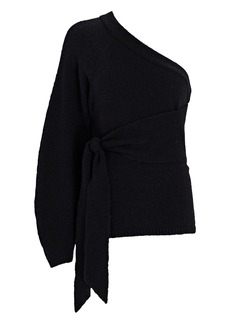 Nanushka Cleto One-Shoulder Sweater