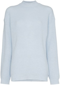 Nanushka Cloud high neck knitted top