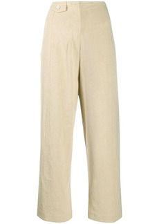 Nanushka cropped straight-leg trousers