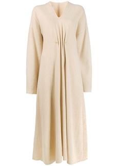 Nanushka Draped Pearl dress