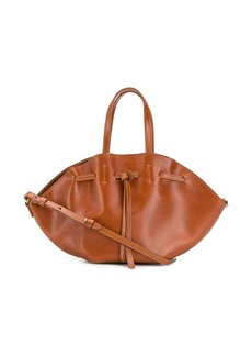 Nanushka drawstring gathered bag