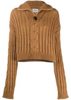 Nanushka Eria cable knit jumper