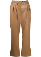 Nanushka Mitsu vegan leather trousers