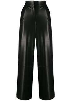Nanushka flared cropped trousers