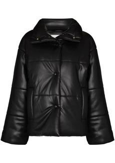 Nanushka Hide vegan leather puffer jacket