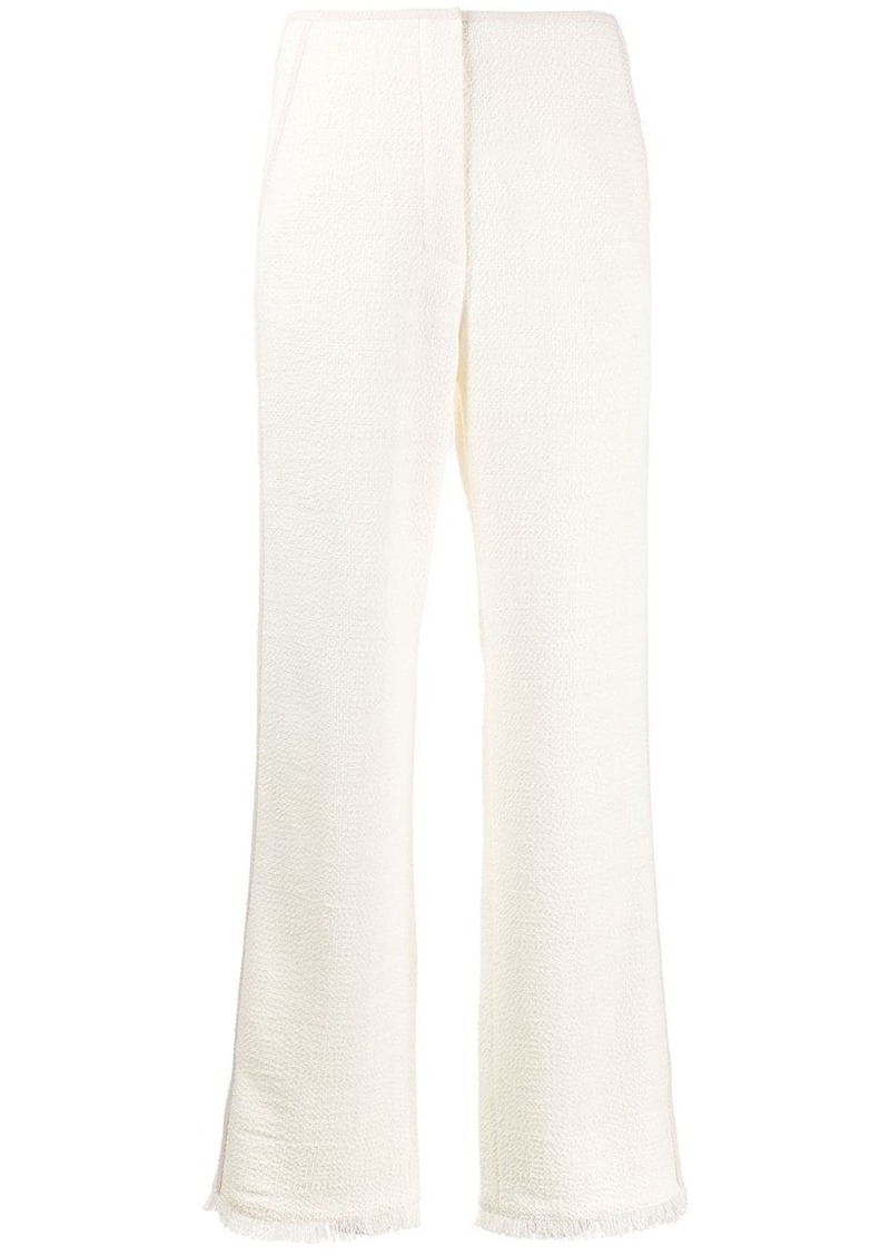 Nanushka high-rise wide-leg trousers
