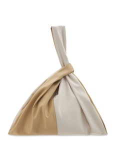 Nanushka Jen Faux Leather Top Handle Bag