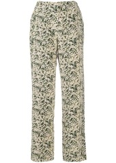 Nanushka Kyra mould-print trousers