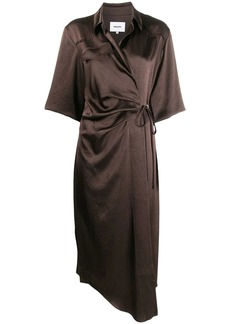 Nanushka Lais wrap dress