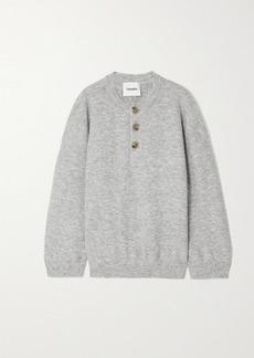 Nanushka Lamee Melange Knitted Sweater