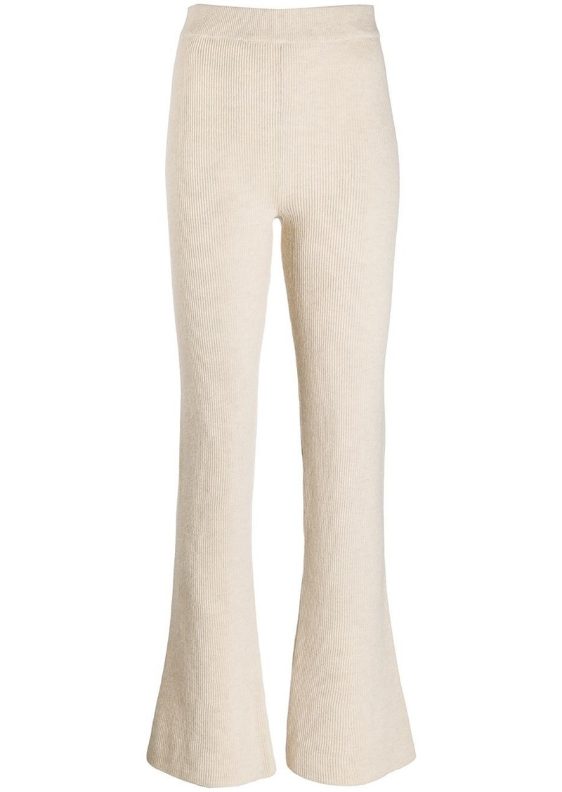 Leba flared trousers