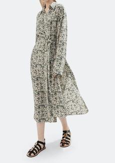 Nanushka Mona Belted Midi Dress - S - Also in: M, XL, XS, L