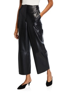 Nanushka Africa Vegan Leather Pants