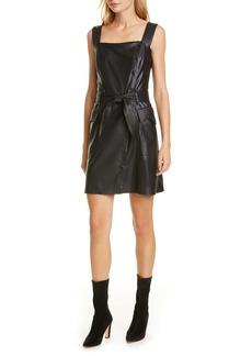 Nanushka Charo Vegan Leather Minidress