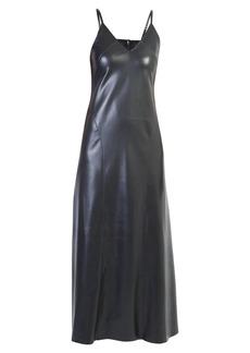 Nanushka Faux Leather Dress