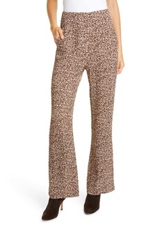 Nanushka Kisa Print Pleated Pants