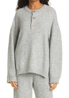 Nanushka Lamee Henley Sweater