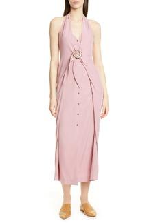 Nanushka Liya Halter Dress
