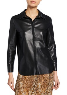 Nanushka Naum Vegan Leather Top
