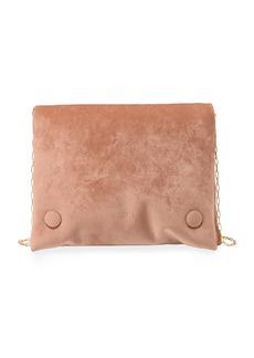Nanushka Tao Velvet Chain Crossbody Bag